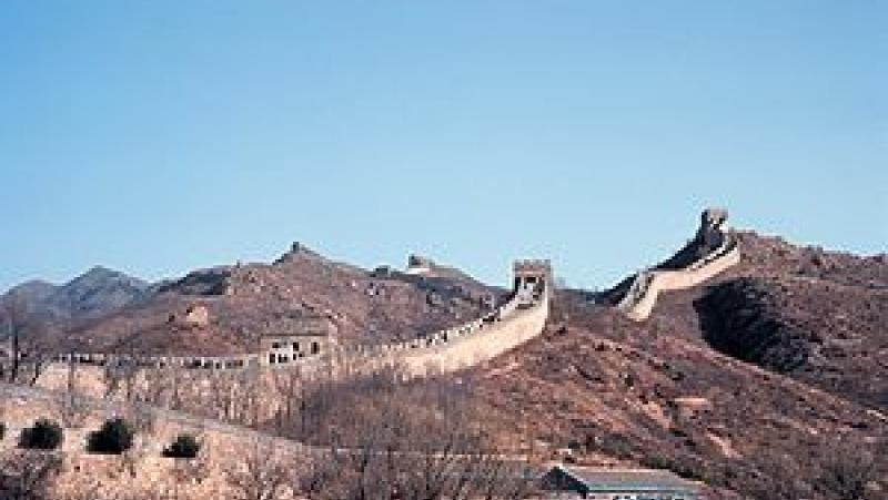France 3, стълпотворение, Великата китайска стена, вътрешен туризъм , рекорди