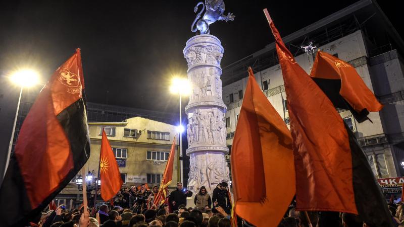 Македонци, протест, фалшифициране, избори