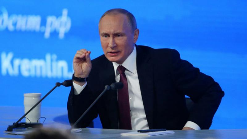 Путин, печели, избори, президент, Русия