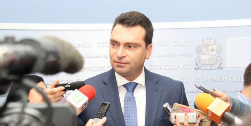 Калоян Паргов, общински съветници, БСП, откриване, учебна година, София