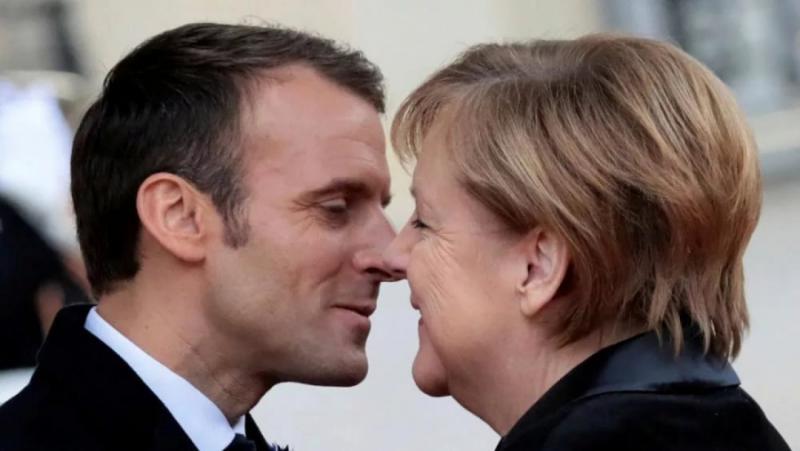 Французи, германци, НАТО, САЩ