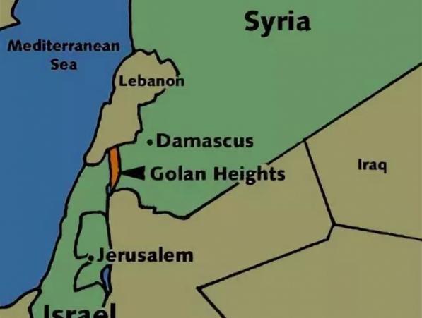 Иракска шиитска бригада,освобождаване, Голан, Израел