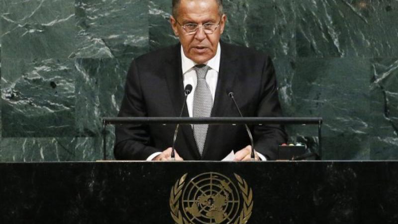 Сергей Лавров, Антъни Бленкен, ООН