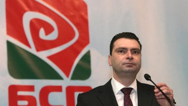 Председател на БСП–София, Калоян Паргов, столичен предизборен щаб