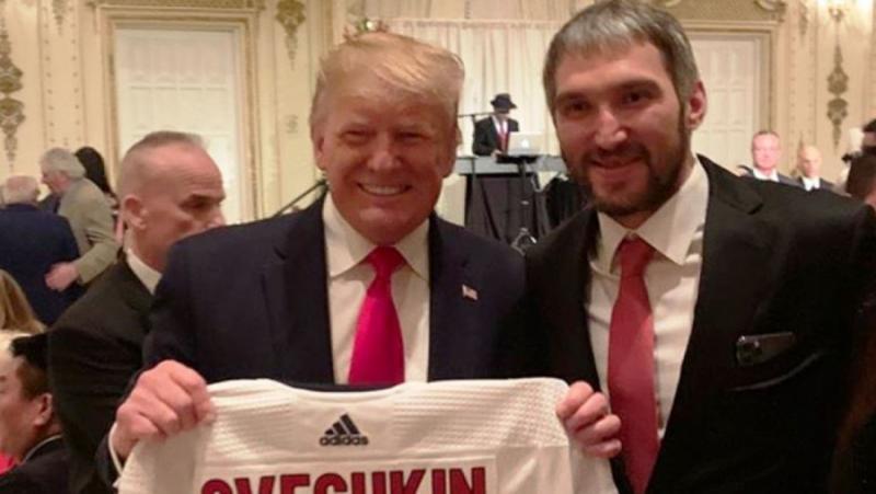 Washington Post, близък приятел, Путин, Овечкин, Рождество, Тръмп