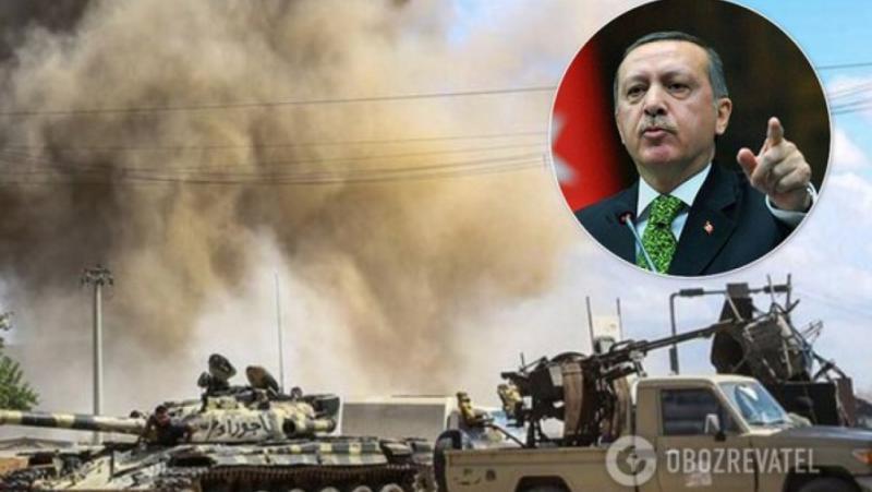 Агресия, Турция, обедини, либийския народ
