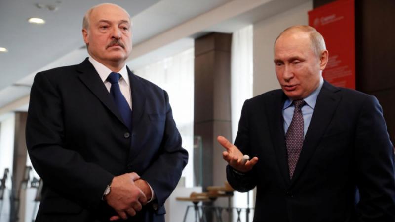 Гръмотевичен сигнал, Путин, Лукашенко