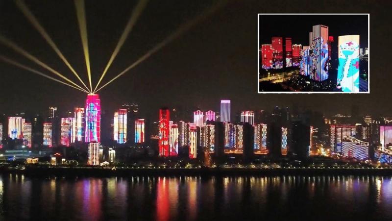 Китай, Ухан, шоу, коронавирус, COVID-19
