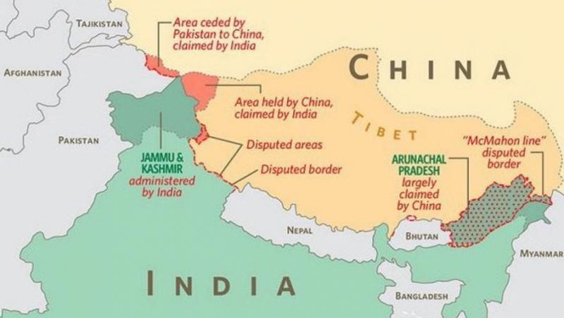 Индия, Китай, нова война, Азия