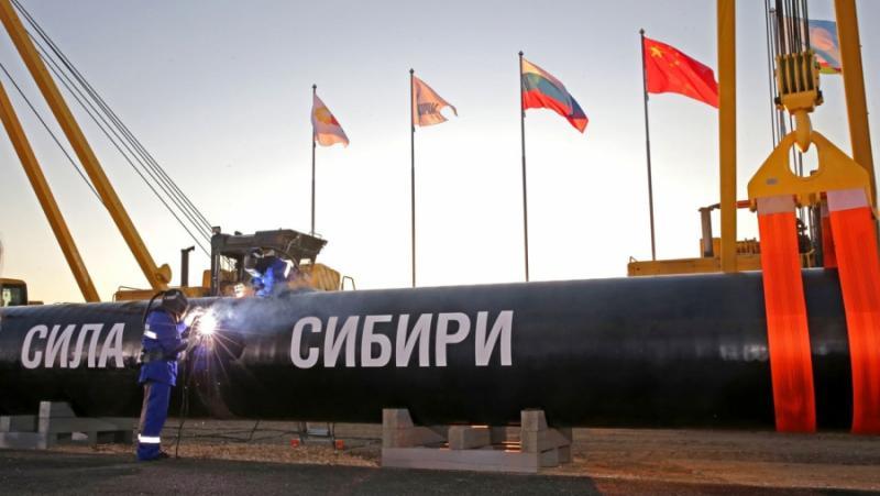 Исторически газов договор, Русия, Китай