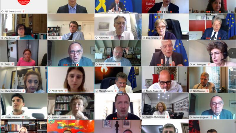 Станишев, Европейски съвет, Плана за възстановяване, юли