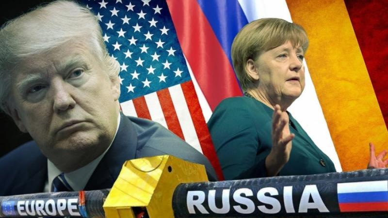 Северен поток-2, разделя, Европа, САЩ