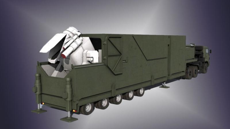 Боен лазер Пересвет, американска космическа армада