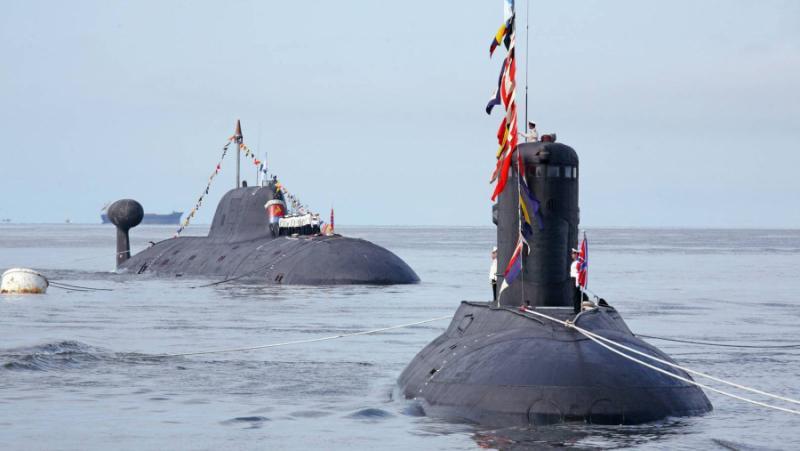 Руски подводници,Северния Атлантически океан, НАТО