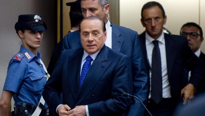 Берлускони, Италия, задкулисие, съдебна система
