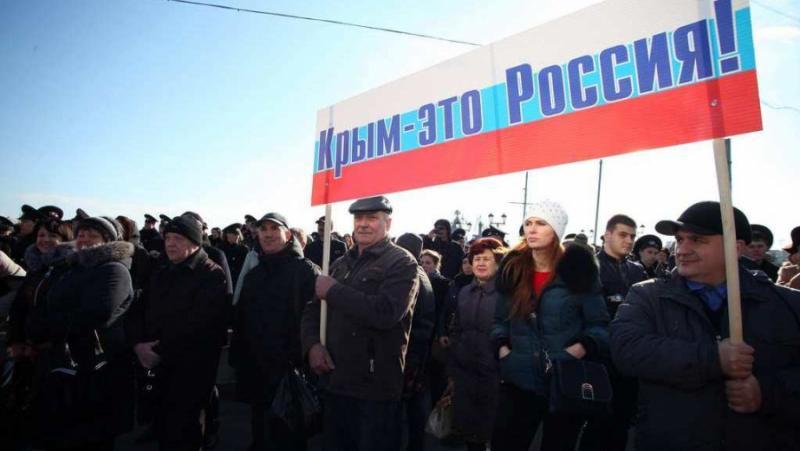 Разсъждения, Андреас Умланд, Крим