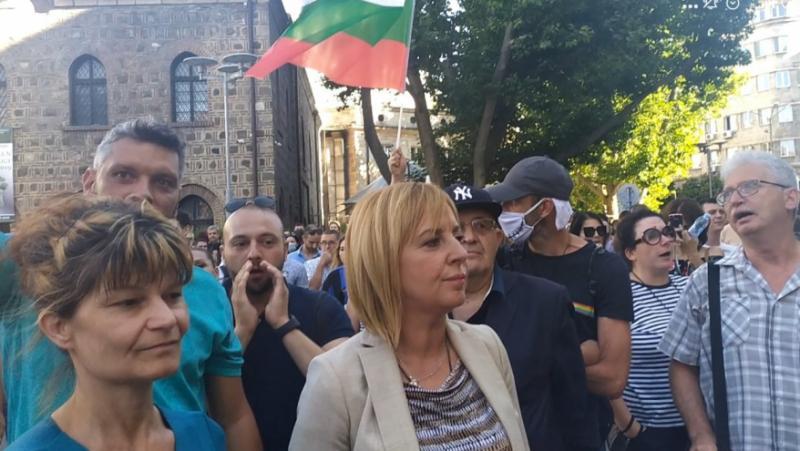 Манолова, протест, Борисов, безредици