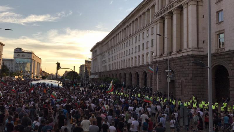 протести, България, правителство