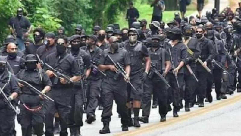 Черни милиции, американски Афромайдан ,щурмоваци