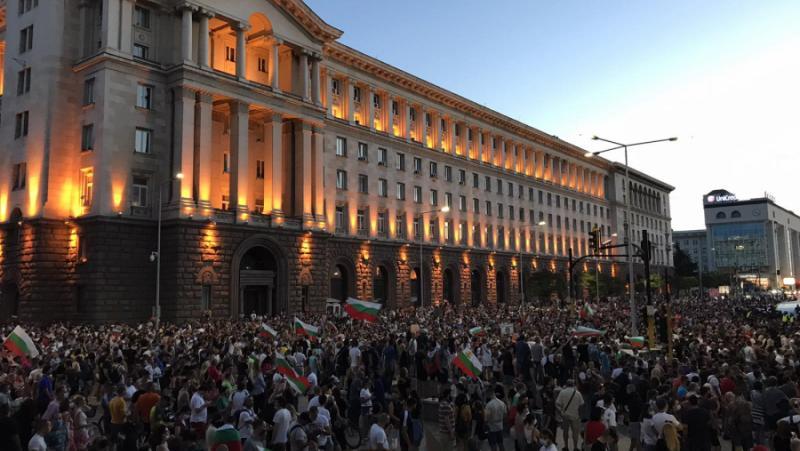 Хиляди, протестиращи, антиправителствена демонстрация, София