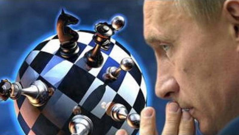 Шах, играе, Путин