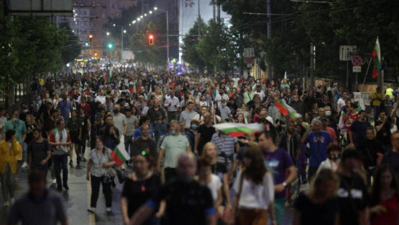 София, 19-и ден, антиправителствен протест