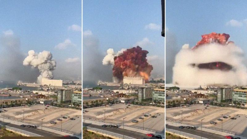 Взрив, Близкия изток, Бейрут