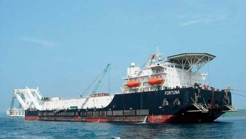 Северен поток-2, дострояване, кораби, тайнствени собственици