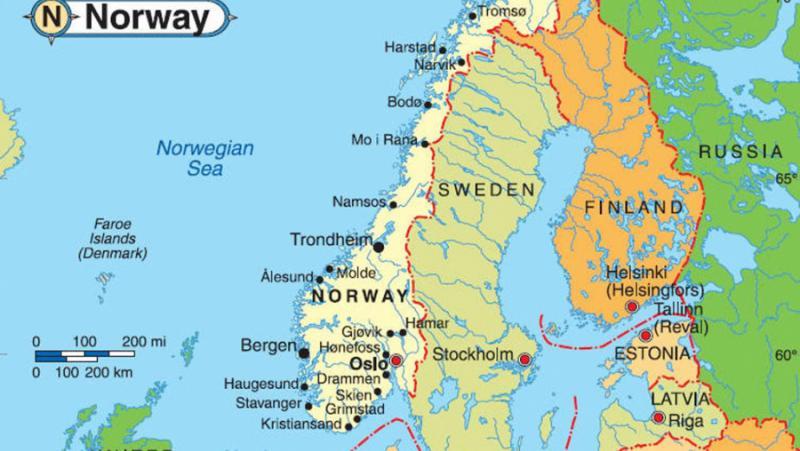 Избори, Норвегия, победа, партия, Русия