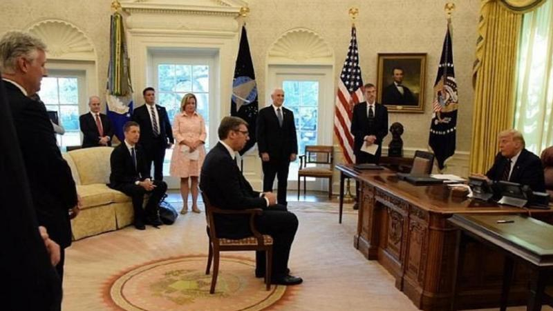 Партията, Вучич-Тръмп, надиграване