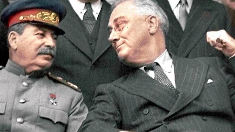 Рузвелт, Сталин, историци, забравим