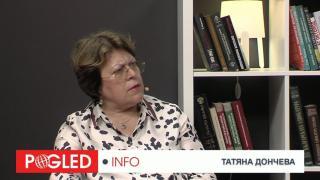 Татяна Дончева, проблеми, България, ляво, дясно
