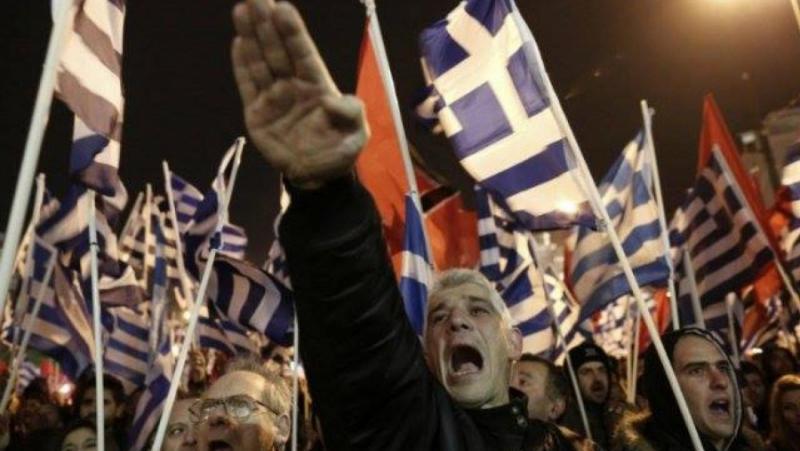 Гърци, Нюрнбергски процес, проруска партия