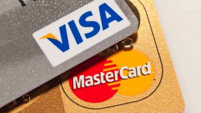 Освобождение, американски платежни системи, Виза, Мастъркард