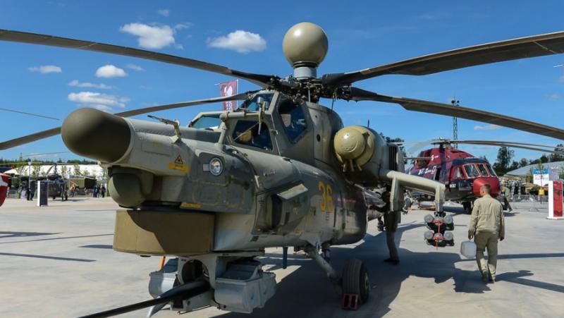 Китайски анализатори, руски хеликоптер, Ми-28НМ, проблем, САЩ