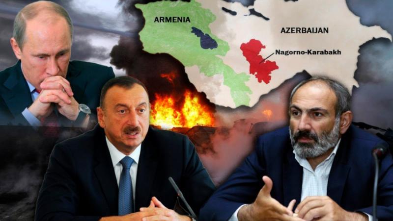 Чук, наковалня, Карабах, Русия