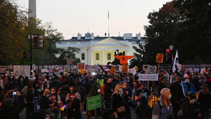 Фокус, внимание, избори, протестно движение, САЩ