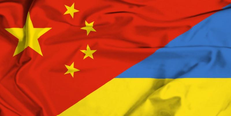 Украйна, очи, Китай
