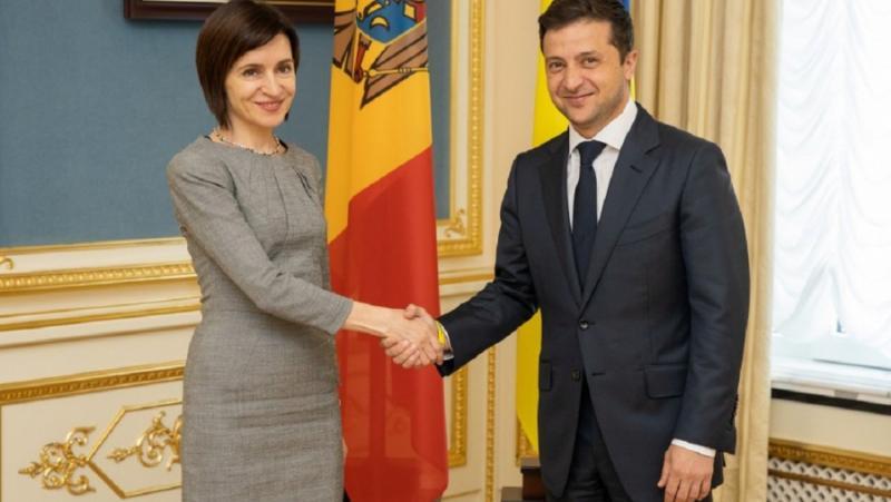 Молдова, вода, Украйна, Мая Санду, мълчи