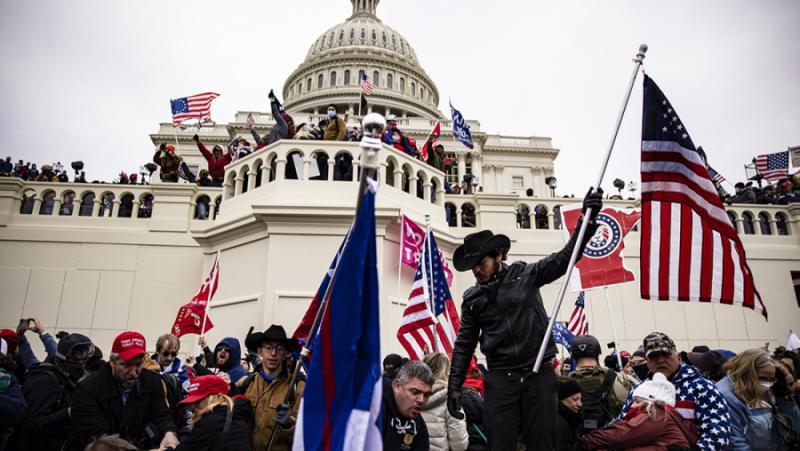 Щурм, Капитолия , САЩ, протести, Русия