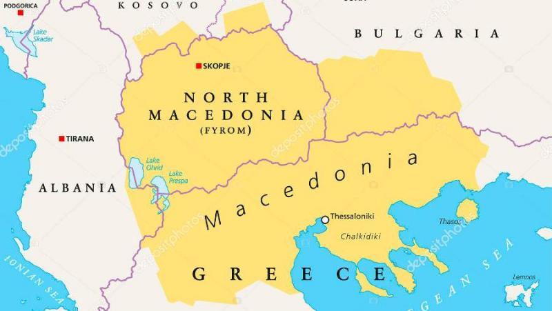 Анко Иванов, Албания, българо-македонски спор
