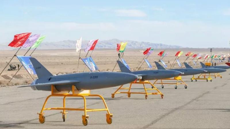 Иран, дронове, поразят, американски бази, Европа