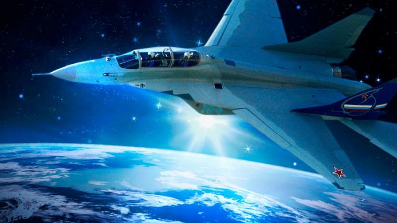 Русия, строи, МиГ-41, космически бой