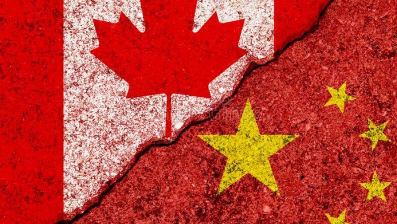 Китай, канадска намеса, вътрешни работи