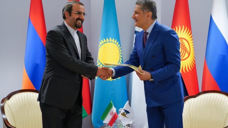 Иран, присъединяване, Евразийски икономически съюз