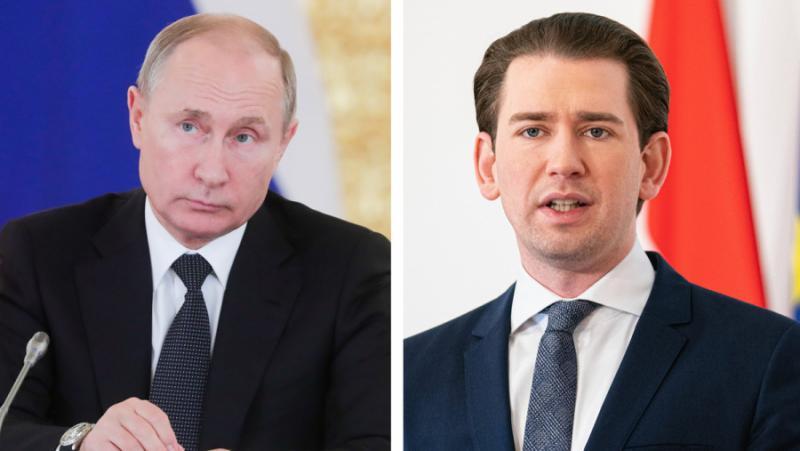 Путин, Курц, доставка, производство, Спутник-V