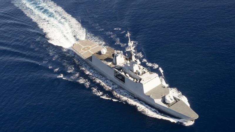 China Daily , Френски военни, Южнокитайско море