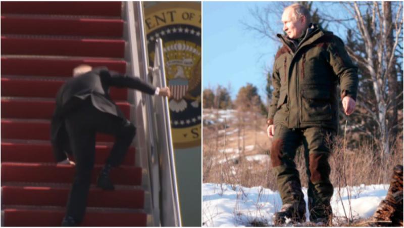 Sky News:, Путин, хипермъжествен образ, пътуване,  Сибир