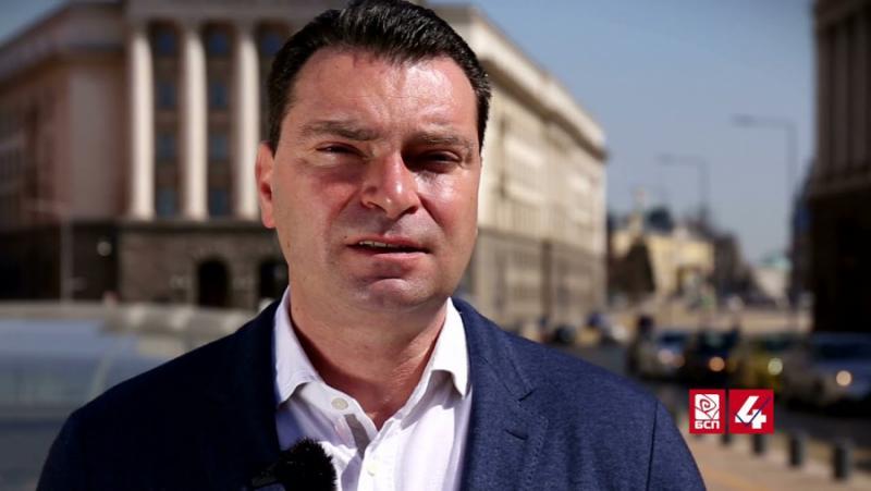 Калоян Паргов, председател на БСП-София, трети път, тази година, избори