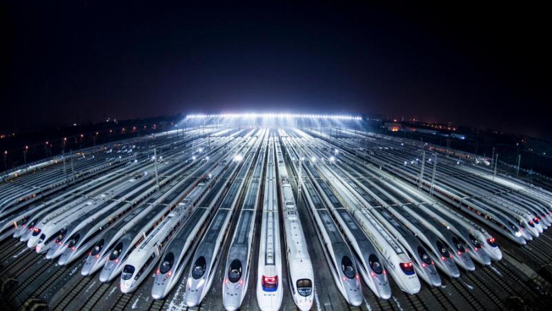 САЩ, светлинни години, Китай, инфраструктура
